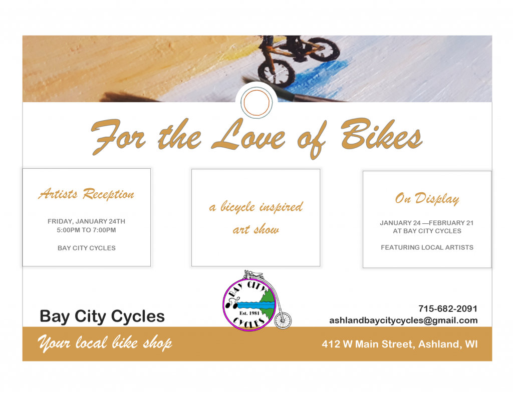 For the Love of Bikes Flyer